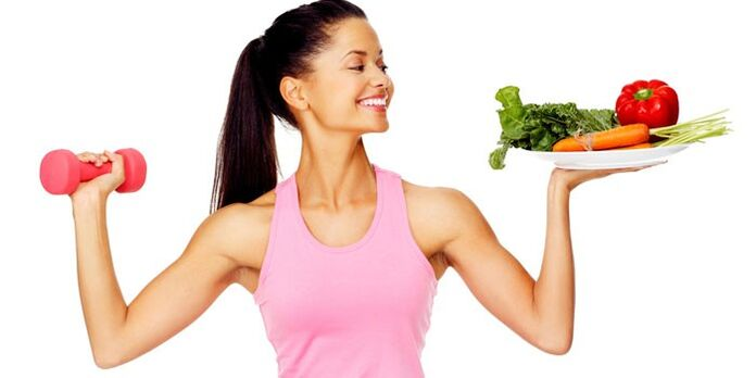 healthy eating and exercise for weight loss in a month